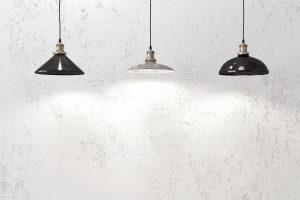 lámparas industriales tipo campana