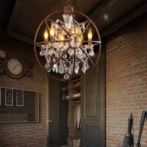 Lámpara estilo industrial estilo Loft