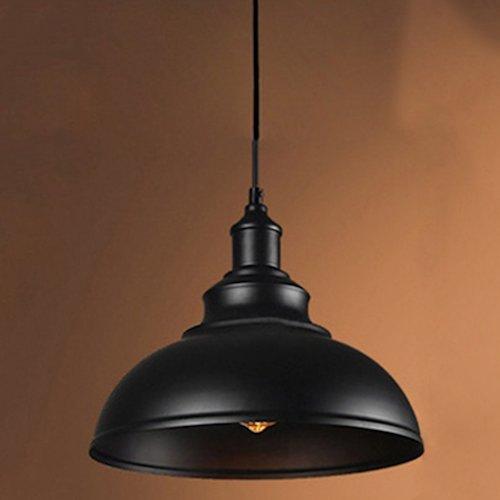 Lámpara industrial con pantalla de metal