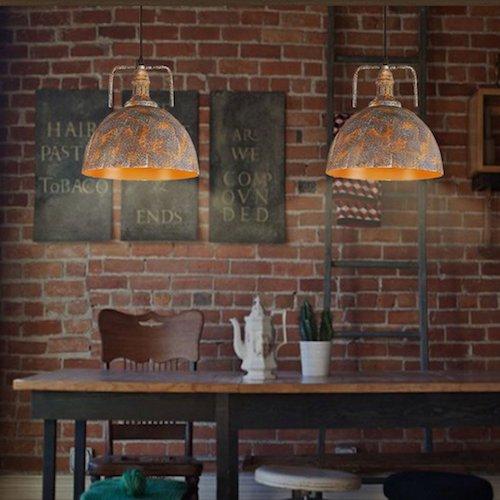Lámpara industrial tipo araña Leuchten