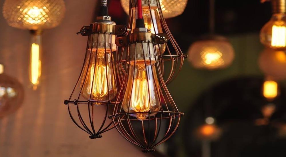 lampara tipo industrial